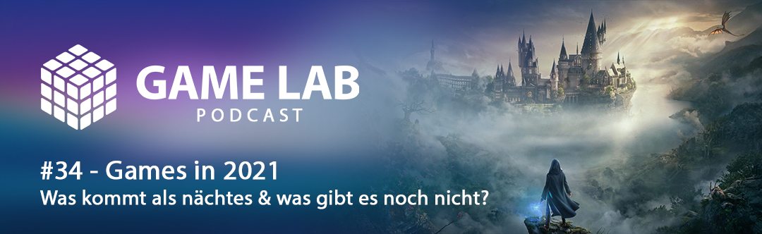 GameLab Podcast #34 – Games in 2021 – Was kommt, was wird neu?