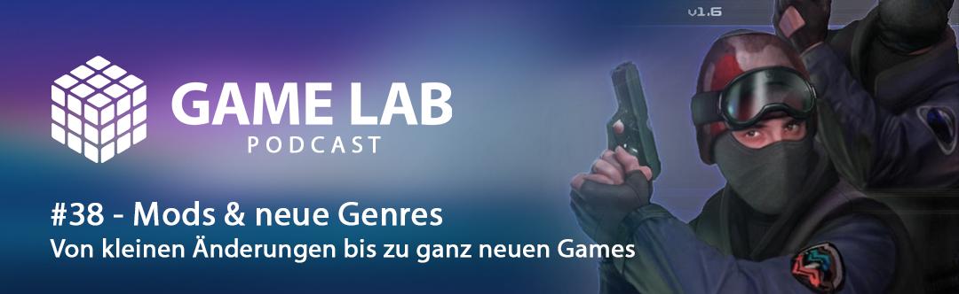 GameLab Podcast #38 – Modding oder Hacking, das ist hier die Frage.